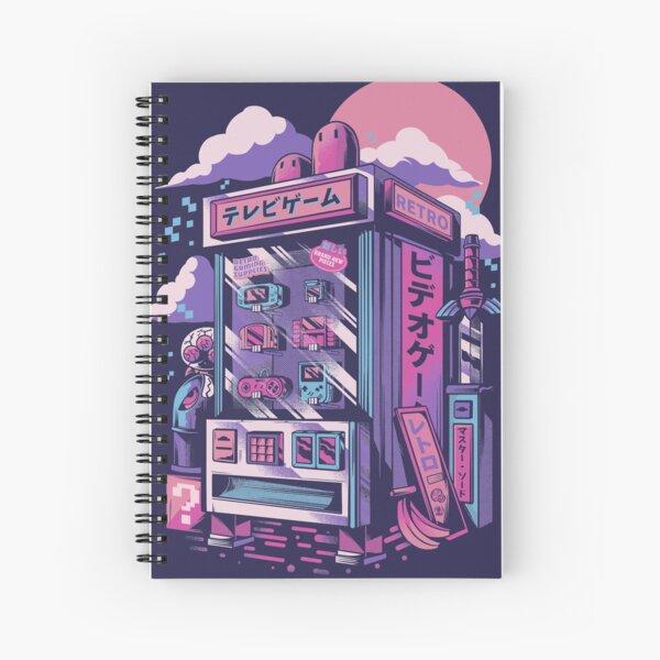 Retro gaming machine Spiral Notebook