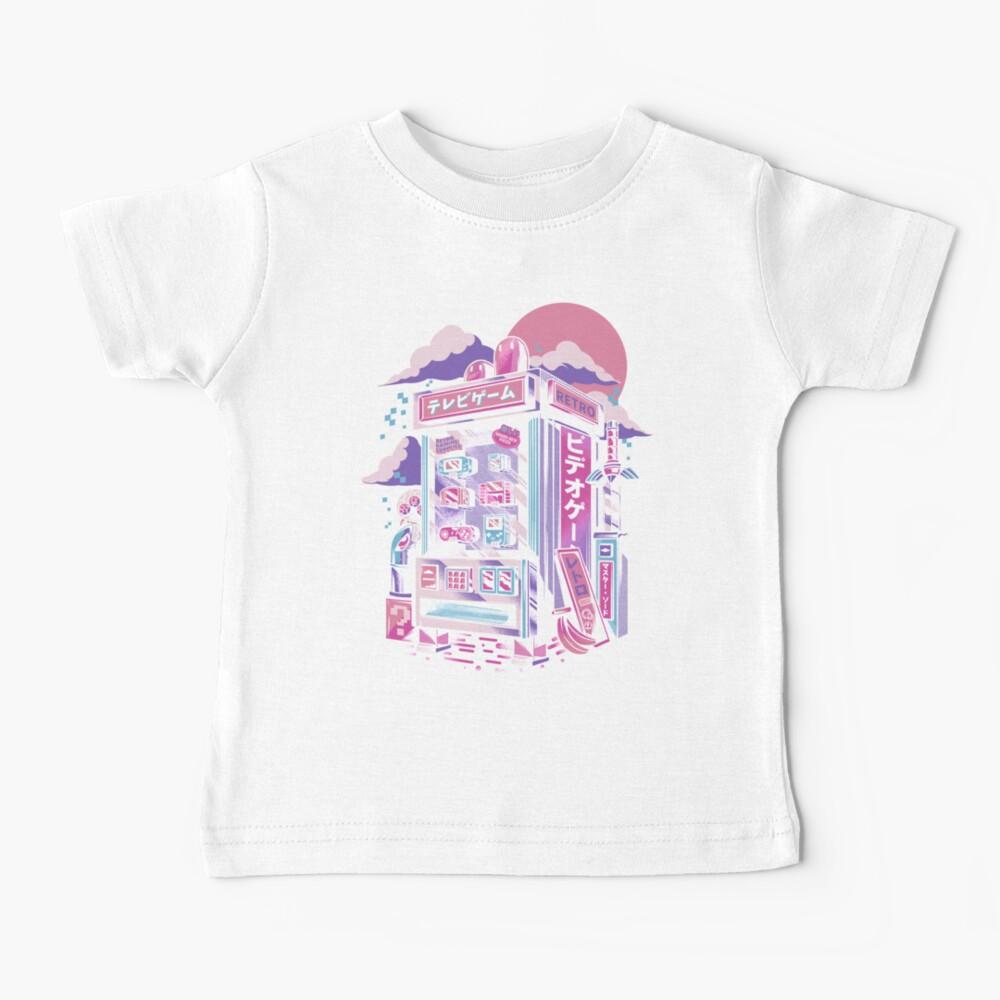 Retro gaming machine Baby T-Shirt