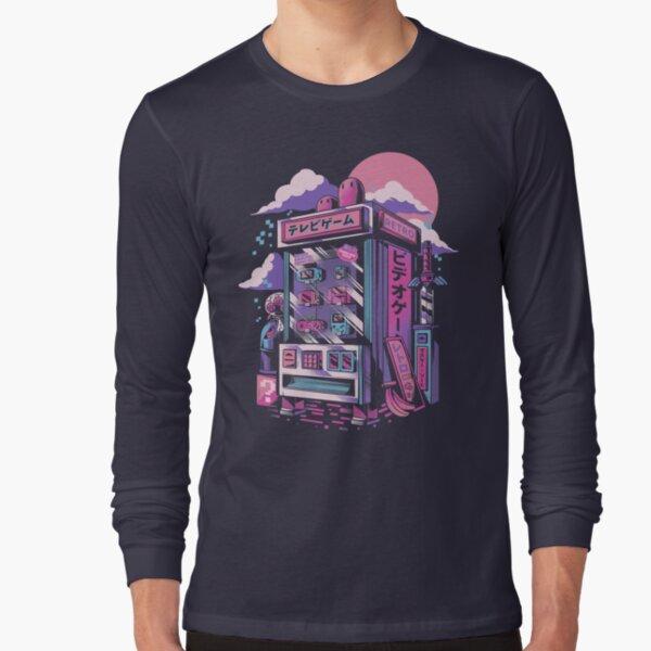 Retro gaming machine Long Sleeve T-Shirt