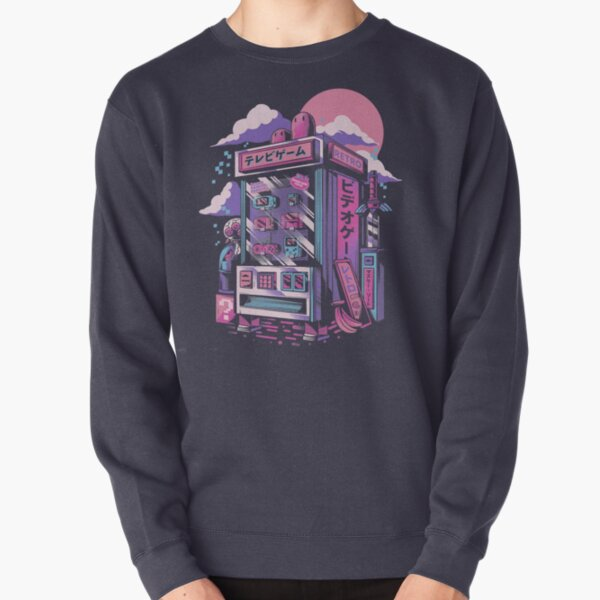 Retro gaming machine Pullover Sweatshirt