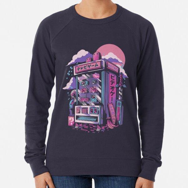 Retro gaming machine Lightweight Sweatshirt