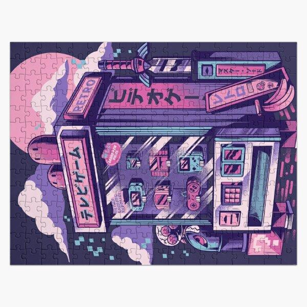 Retro gaming machine Jigsaw Puzzle