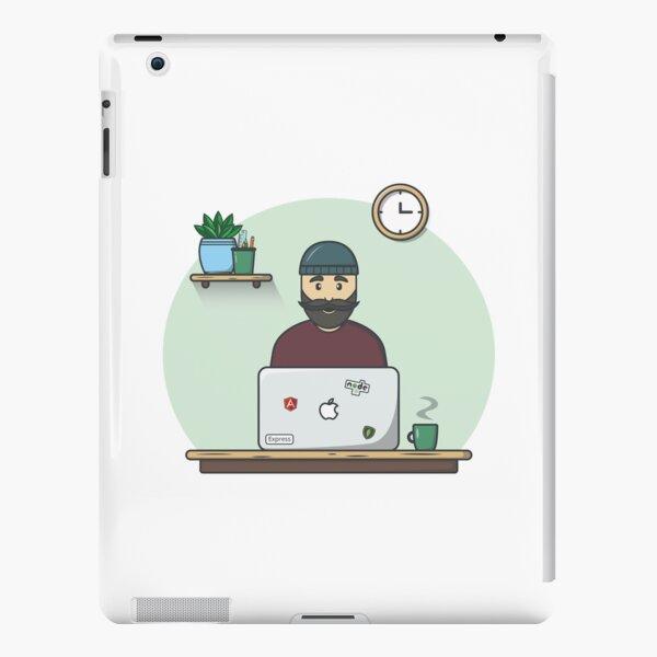 Hipster programmer - 3 iPad Snap Case