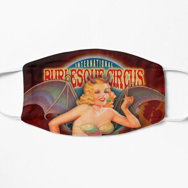 Burlesque Circus - Beastilicious Halloween Retro Pin-Up Girl mit Fledermaus Flügeln Maske