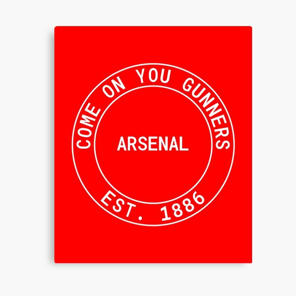 COYG Come on you arsenal retro Canvas Print