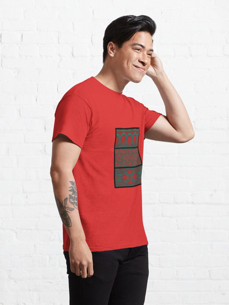 Alternate view of Sodenay Wall Motifs Classic T-Shirt