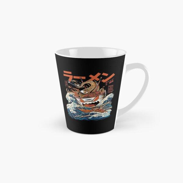 The black Great Ramen Tall Mug