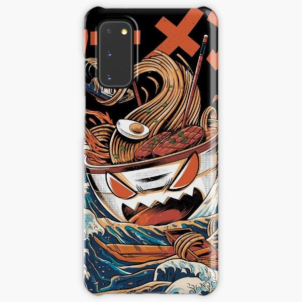 The black Great Ramen Samsung Galaxy Snap Case