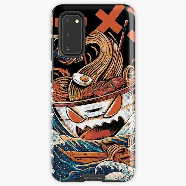The black Great Ramen Samsung Galaxy Tough Case