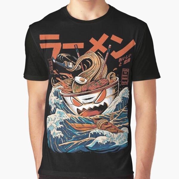 The black Great Ramen Graphic T-Shirt