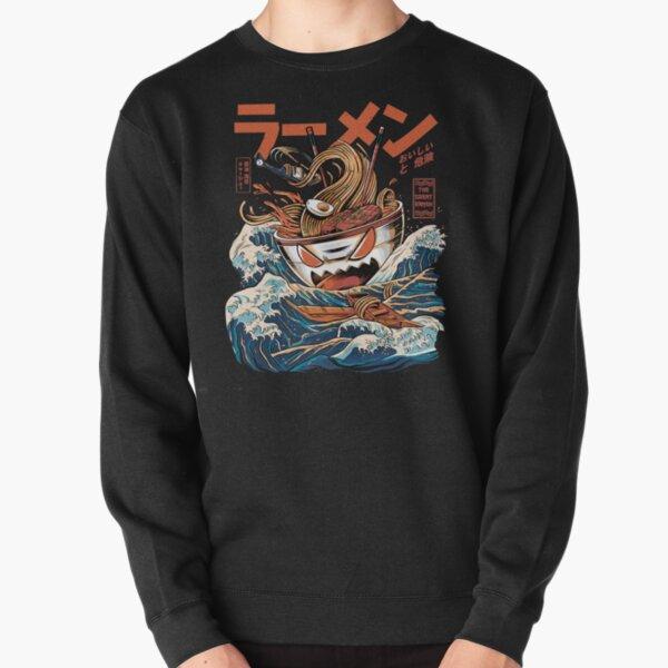 The black Great Ramen Pullover Sweatshirt