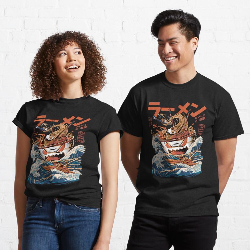 The black Great Ramen Classic T-Shirt