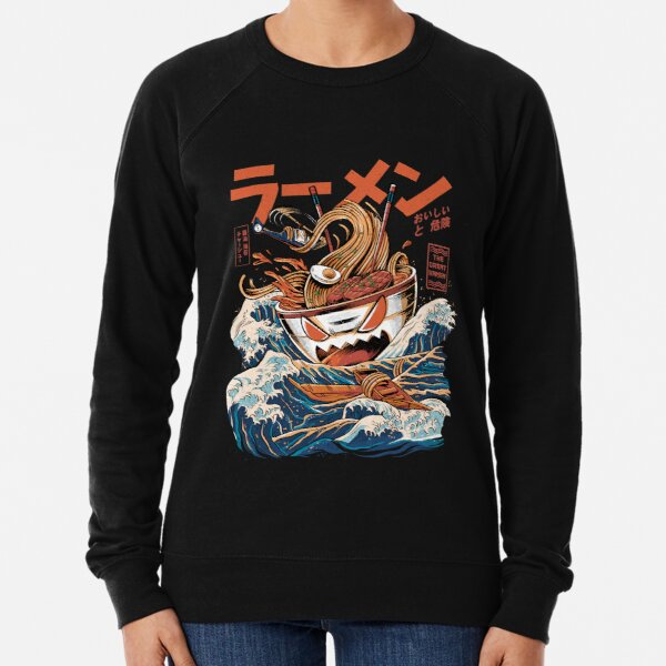 The black Great Ramen Lightweight Sweatshirt