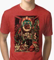 Zombie Star Farter Pilot Tri-blend T-Shirt