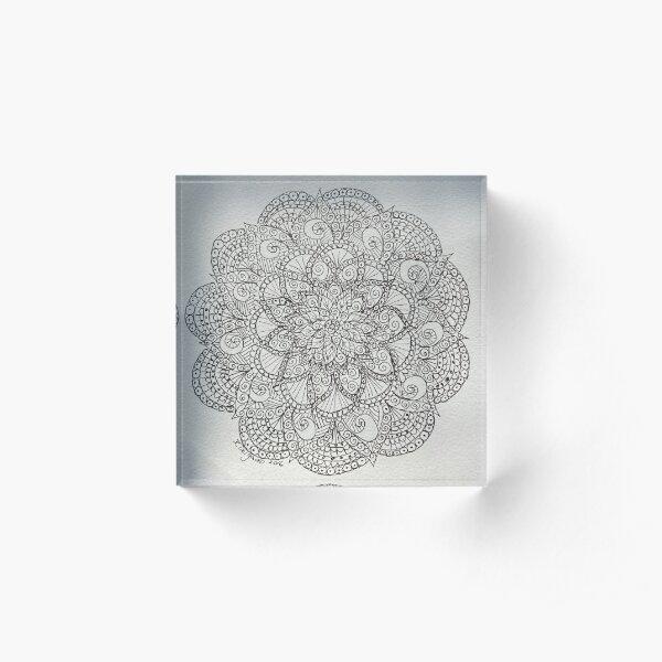 Mandala 1 Acrylic Block