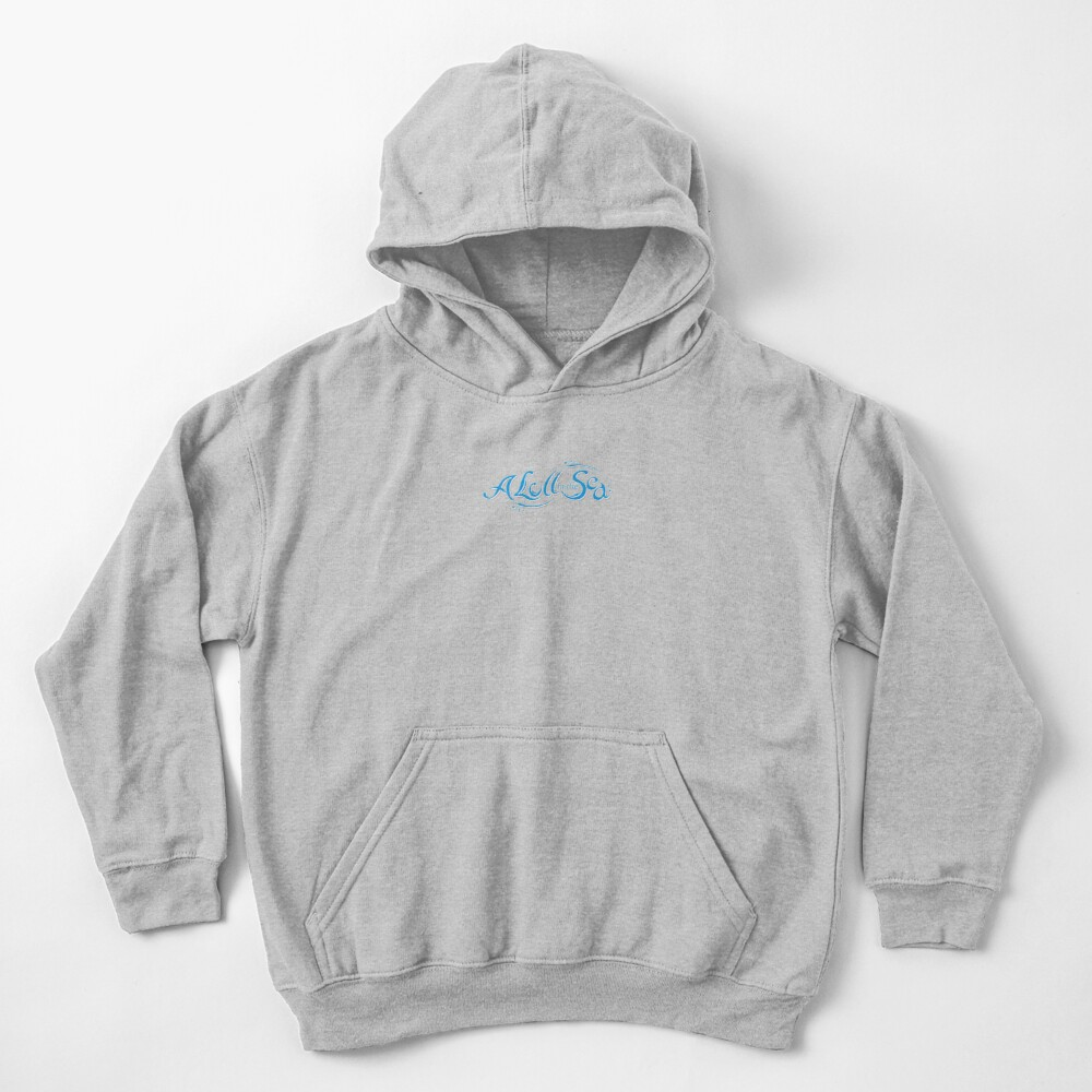 A Lull In The Sea Kids Pullover Hoodie