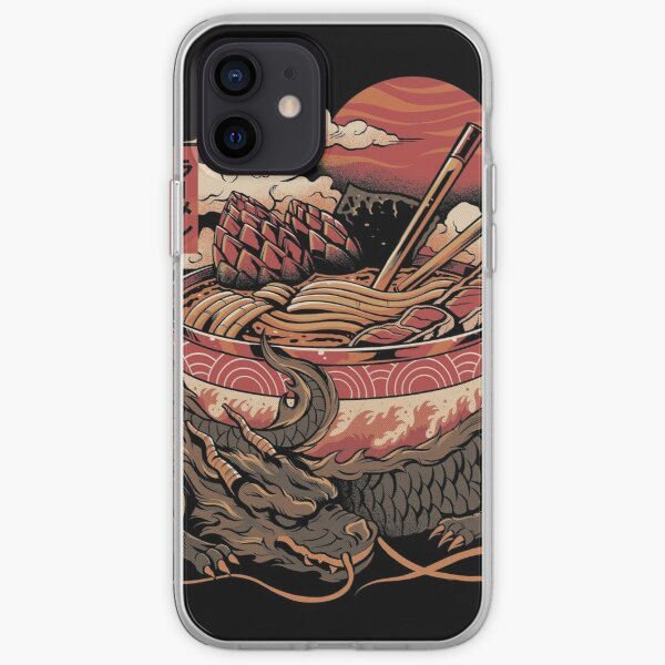 Dragon's Ramen iPhone Soft Case