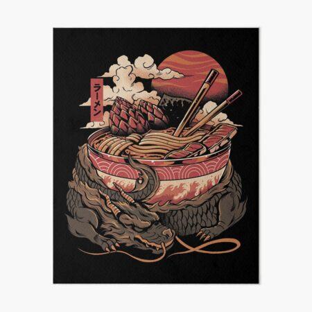 Dragon's Ramen Art Board Print