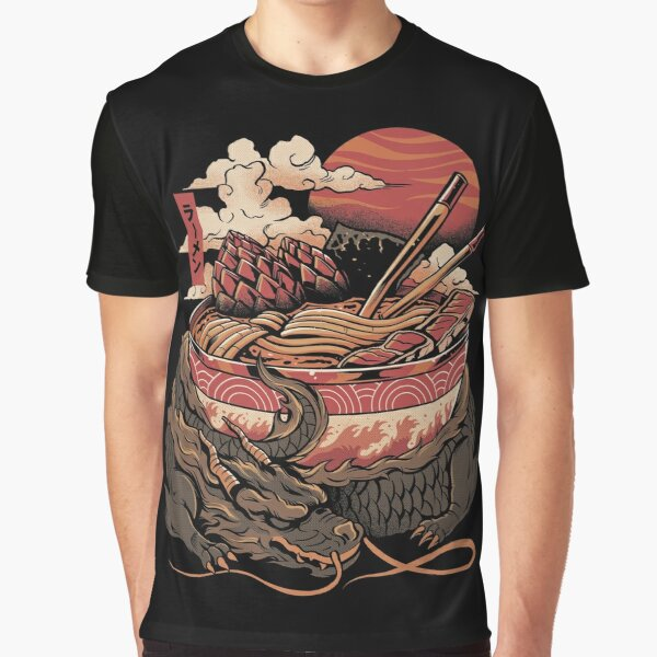 Dragon's Ramen Graphic T-Shirt
