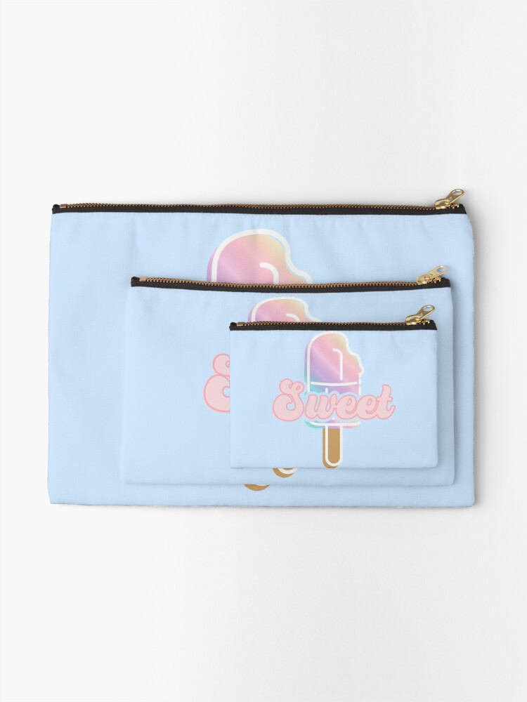 Alternate view of Sweet Ice Lolly Zipper Pouch
