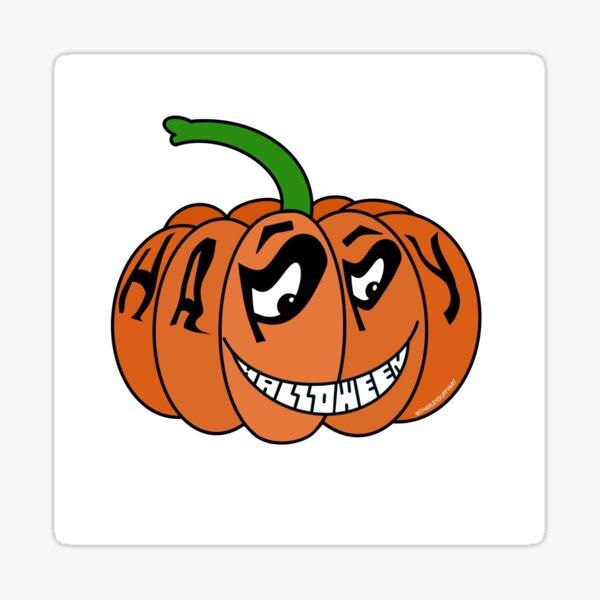 Happy Halloween Pumpkin  Sticker