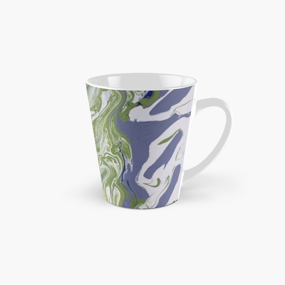 "Abstract Painting-""Lavender Lady""-Abstract Art-Abstract Mug"