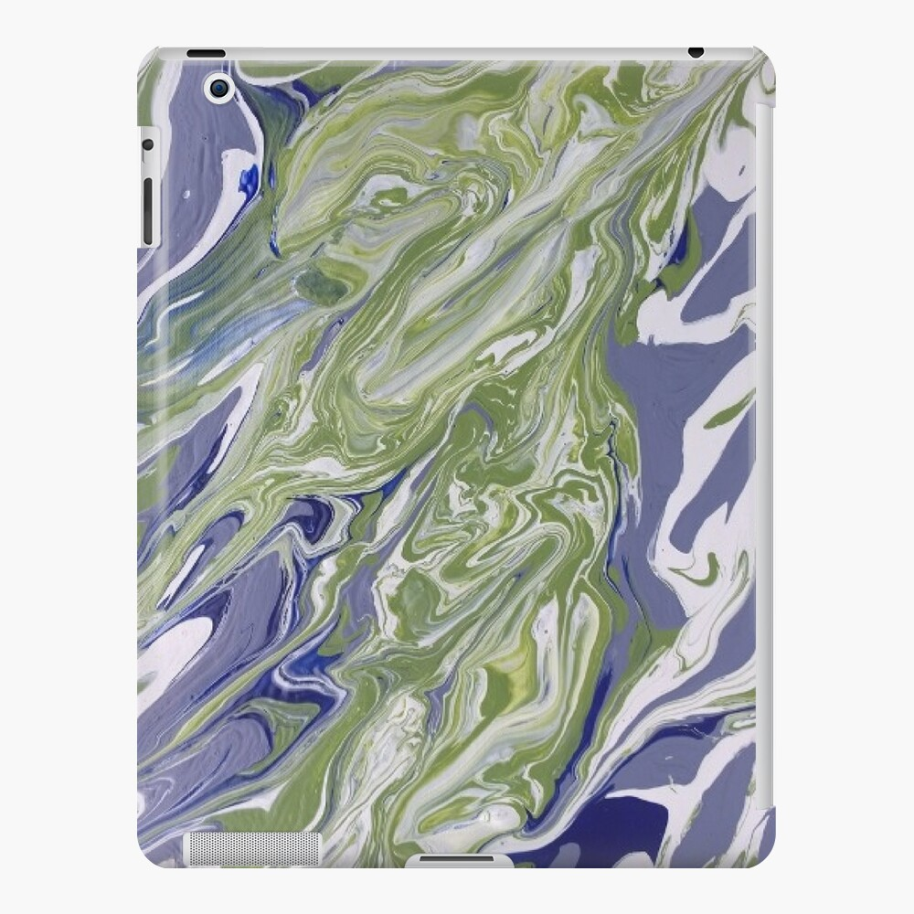 """Abstract Painting-""""Lavender Lady""""-Abstract Art-Abstract iPad Case & Skin"""