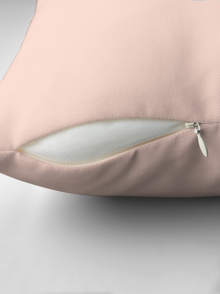 Alternate view of Pastel Candy Floss Throw Pillow