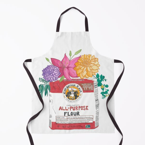 All-Purpose Flowers Apron