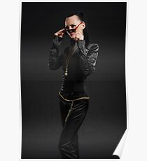 Black catsuit Poster
