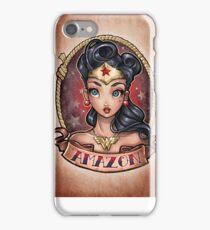 Amazon Pinup iPhone Case/Skin