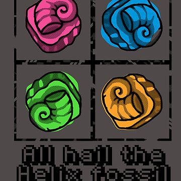All Hail the Helix Fossil by RaesaK