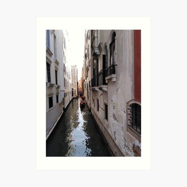 Canal in Venice Art Print