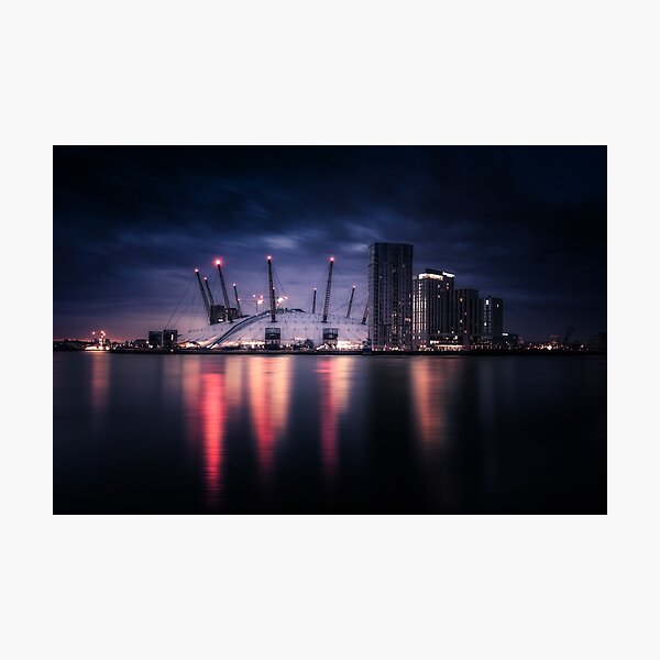 O2 Arena - The Dome Of The City, London Photographic Print