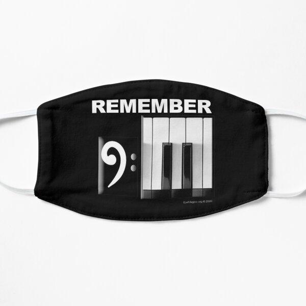 9/11 Piano Flat Mask