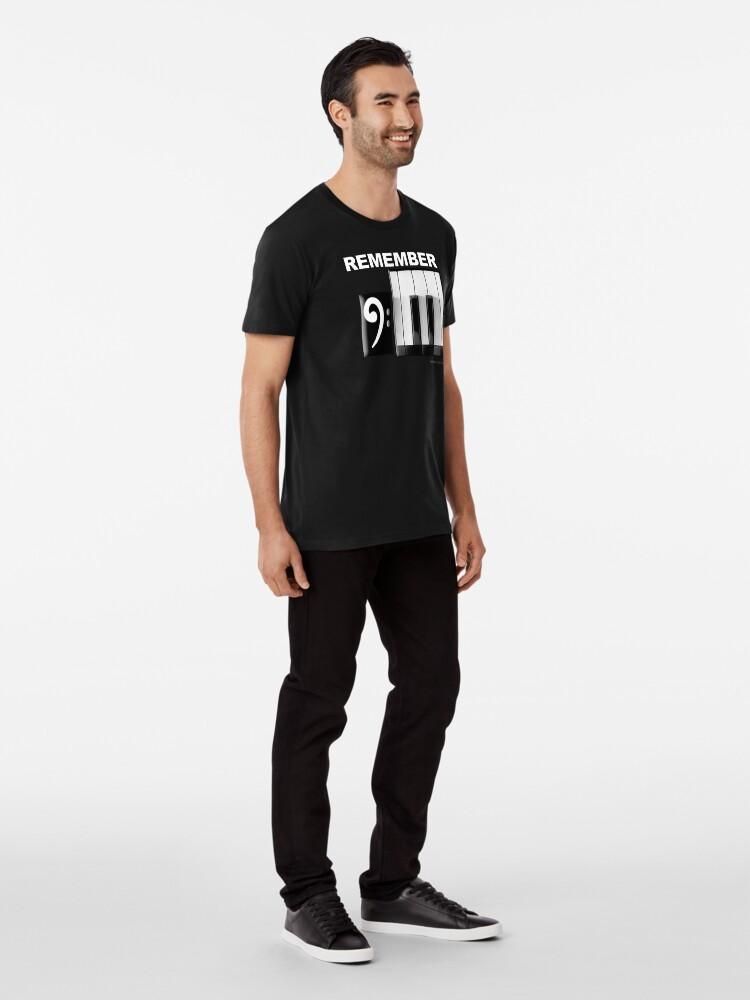 Alternate view of 9/11 Piano Premium T-Shirt