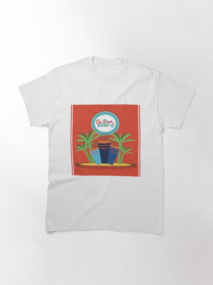 Alternate view of Gobal Riddims (1) Classic T-Shirt
