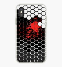 Six angular Red iPhone-Hülle & Cover