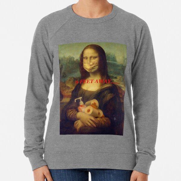 6 Feet Away Lightweight Sweatshirt