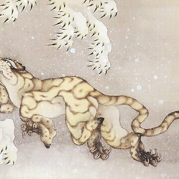 Hokusai - Winter Tiger by carpediem6655