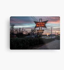 Lincoln Motel   Metal Print
