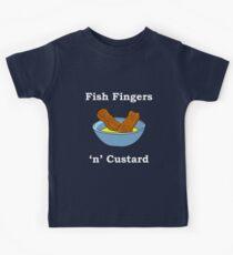 Fish Fingers 'N' Custard. Kids Tee