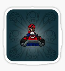 Karting. Sticker