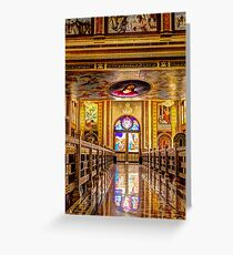 The Golden Church  Greeting Card