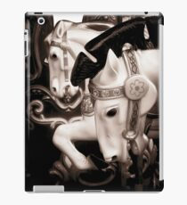 horse in carousel iPad Case/Skin