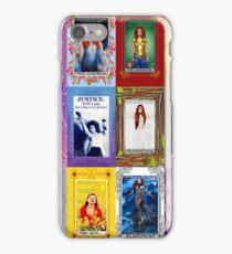 TORI AMOS TAROT COLLAGE iPhone Case/Skin