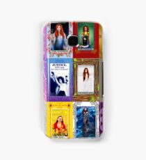 TORI AMOS TAROT COLLAGE Samsung Galaxy Case/Skin