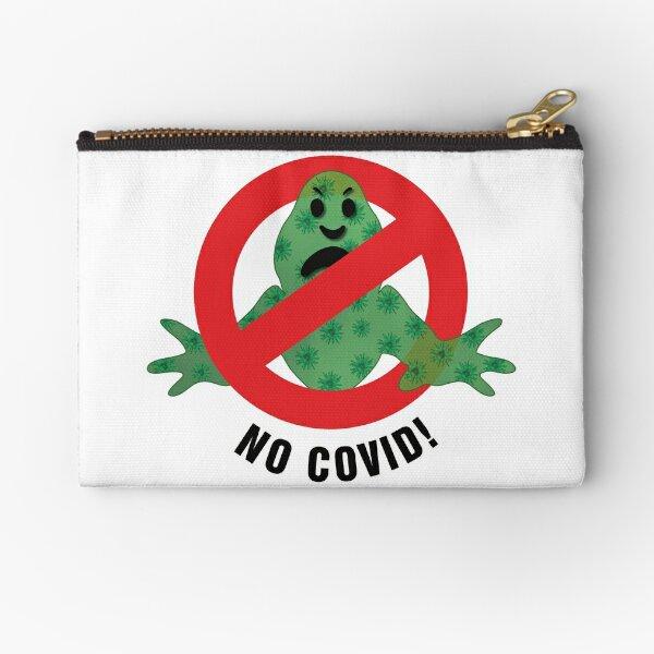 No Covid! - No Glow Zipper Pouch