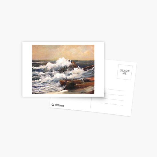 """Polishing the Edges"" Postcard"