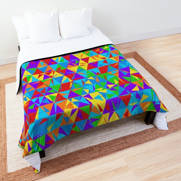 Dulled Air Ioniser (rainbow colors) Comforter
